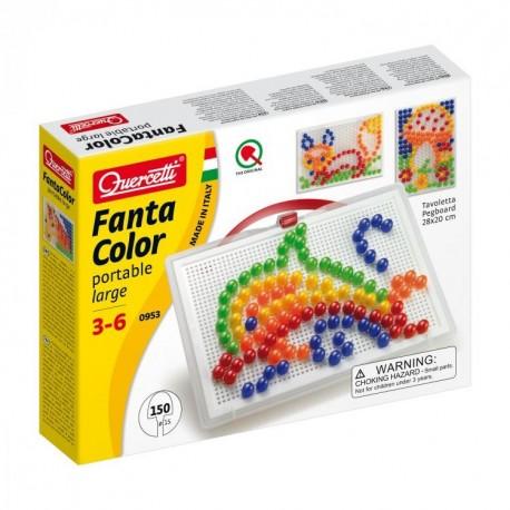 """Quercetti mosaic """"Fantacolor Portable Large"""" 0953"""