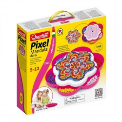"Quercetti mosaic ""Pixel Mandala Daisy"" 2101"
