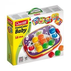 "Quercetti mozaika ""Fantacolor Baby Bottoni Quadrati "" 4414"