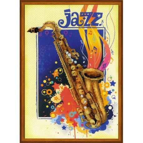 Jazz - Cross Stitch Kit from RIOLIS Ref  no :0041 PT