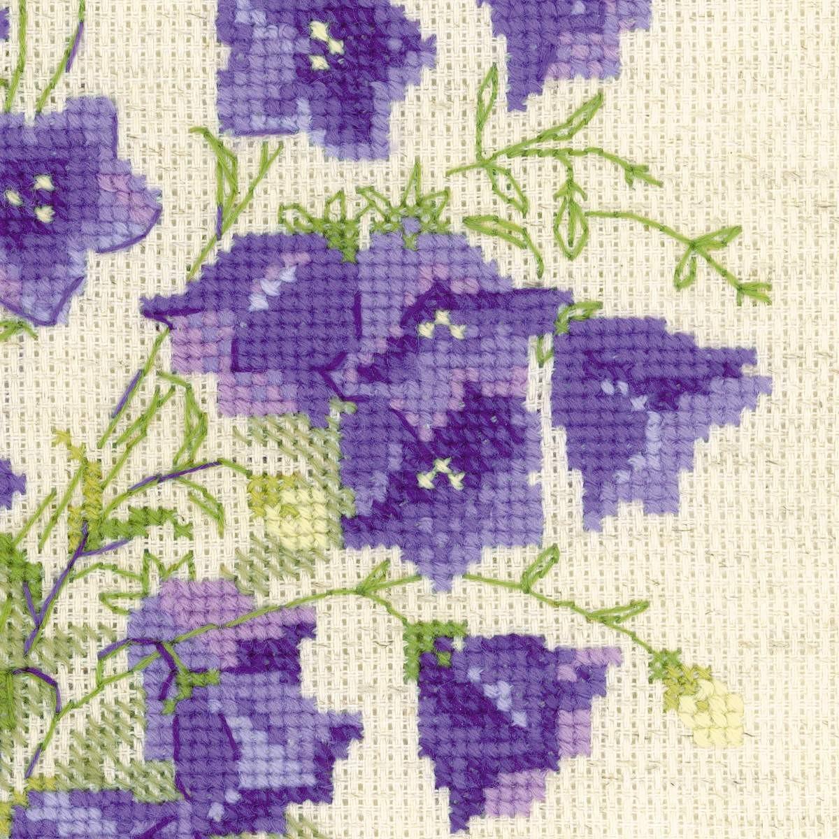 Bellflowers Alisa Cross Stitch Kit