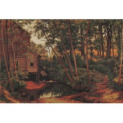 Lanscape, reproduction of Shishkin SB456