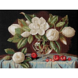 RARE find: Magnolia SB465 - Cross Stitch Kit by Luca-s
