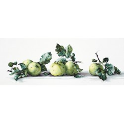 RARE find: Still Life with apples SB2259 - Cross Stitch Kit by Luca-s