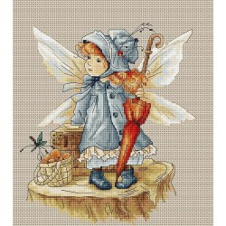 RARE find: The Fairy SB1110 - Cross Stitch Kit by Luca-s