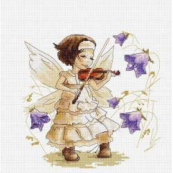 RARE find: Sounds of a Forest SB1113 - Cross Stitch Kit by Luca-s