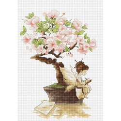 RARE find: The Sakura SB1114 - Cross Stitch Kit by Luca-s