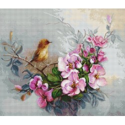 RARE find: Bird SB2314 - Cross Stitch Kit by Luca-s