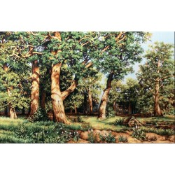 RARE find: The Oak Grove SB476 - Cross Stitch Kit by Luca-s