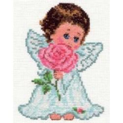 """0-13 Rinkinys siuvinėjimui """"Meilės angeliukas"""""""