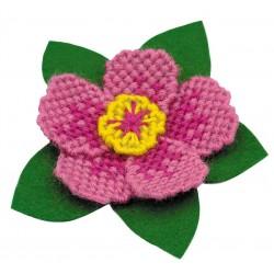 Magnetukas gėlė - rinkinys siuvinėjimui iš RIOLIS Nr:1624AC