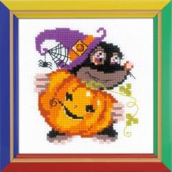 Linksmo Helovyno - rinkinys siuvinėjimui iš RIOLIS Nr:HB173