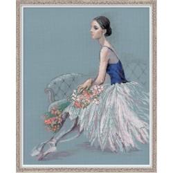 Balerina - rinkinys siuvinėjimui iš RIOLIS Nr:100/054