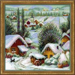 Serbijos kaimas - siuvinėjimo rinkinys iš RIOLIS Nr.:1670