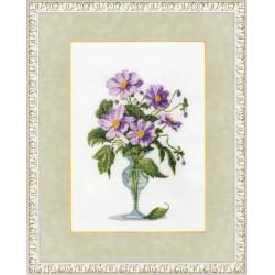 Purple bouquet S/BR018