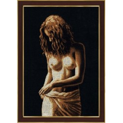 GT033 Naked Cross Stitch Kit from Golden Fleece