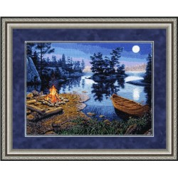 LP023 Living Fire Cross Stitch Kit from Golden Fleece