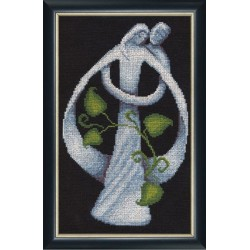 LZH004 Matrimony Cross Stitch Kit from Golden Fleece
