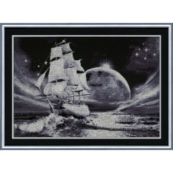 MM012 Moon Way Cross Stitch Kit from Golden Fleece