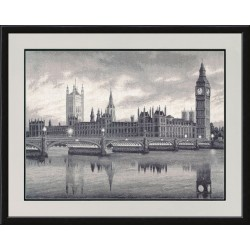 VS005 London Cross Stitch Kit from Golden Fleece