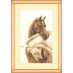 Z028 Dear Friend Cross Stitch Kit from Golden Fleece