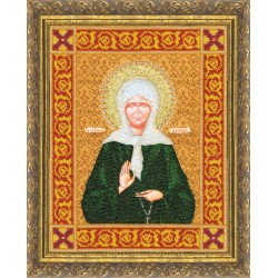 St. Matrona Icon S/RT025