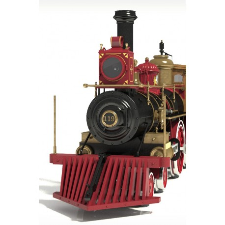 Occre Rogers No119 Locomotive 1:32 (54008) Scale Model Kit