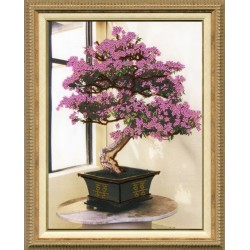 RT010 Blooming Bonsai Cross Stitch Kit from Golden Fleece