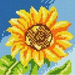 Deimantinis paveikslas Sunflower AZ-1077 Dydis: 15х15
