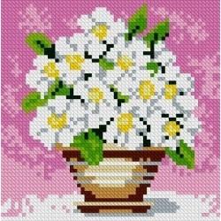 Deimantinis paveikslas Field Flowers AZ-1079 Dydis: 15х15