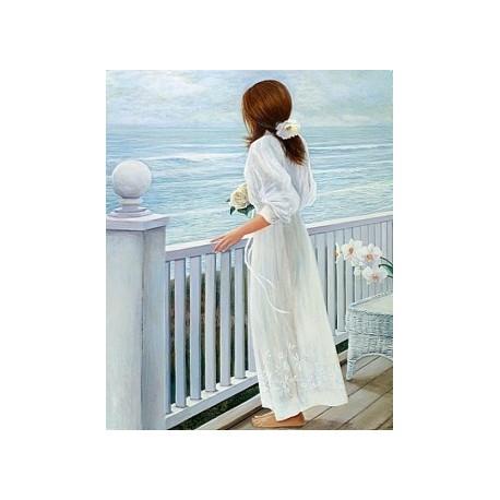 Diamond painting Bride of the Sailor AZ-1122 Size: 40x50