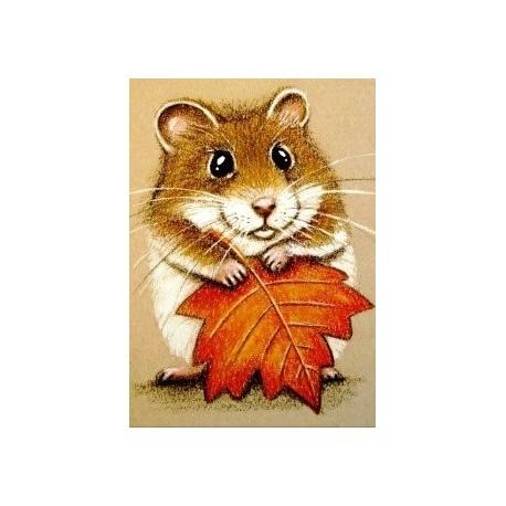Deimantinis paveikslas Hamster AZ-1169 Dydis: 25х35