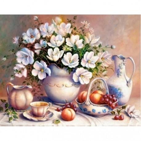Diamond painting White Tenderness AZ-1368 Size: 50х40