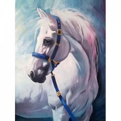 Deimantinis paveikslas White Horse AZ-1387 Dydis: 30х40