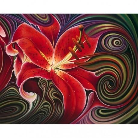 Deimantinis paveikslas Red Phantasy AZ-1395 Dydis: 50х40