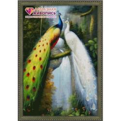 Deimantinis paveikslas Peacocks AZ-67 Dydis: 50х75