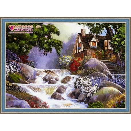 Deimantinis paveikslas House near the River AZ-1495 Dydis: 70х50