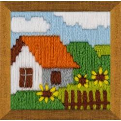 Cottage Garden siuvinėjimo rinkinys iš RIOLIS Nr.: 1650