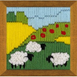 Summer Meadow cross stitch kit by RIOLIS Ref. no.: 1652