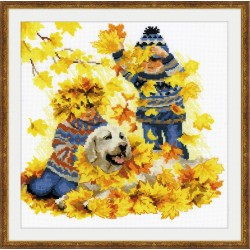 Autumn Holidays cross stitch kit by RIOLIS Ref. no.: 1694