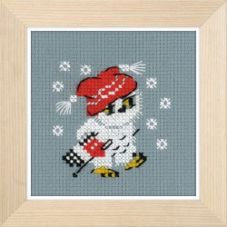 Snow cross stitch kit by RIOLIS Ref. no.: 1667