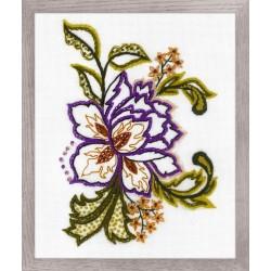 Flower Sketch siuvinėjimo rinkinys iš RIOLIS Nr.: 1687