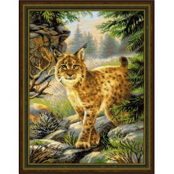 Forest Hostess cross stitch kit by RIOLIS Ref. no.: 1673