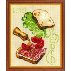 Lunch siuvinėjimo rinkinys iš RIOLIS Nr.: 1685