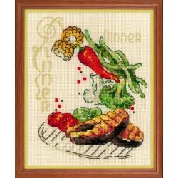 Dinner siuvinėjimo rinkinys iš RIOLIS Nr.: 1686