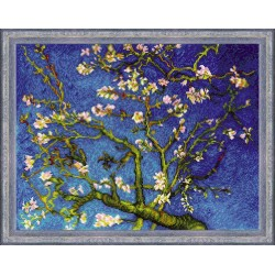 Almond Blossom After V. Van Gogh's Painting cross stitch kit by RIOLIS Ref. no.: 1698