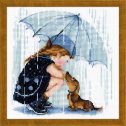 Under My Umbrella siuvinėjimo rinkinys iš RIOLIS Nr.: 1720