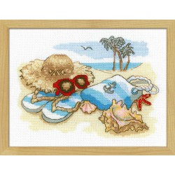 Holiday by the Sea cross stitch kit by RIOLIS Ref. no.: 1719