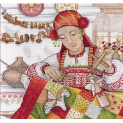 Autumn Beauty SNV-549 cross stitch kit by MP Studio