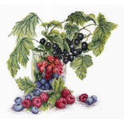 Berries SNV-562 cross stitch kit by MP Studio